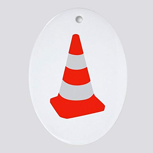 Diuangfoong Traffic cone Ornament (Oval)