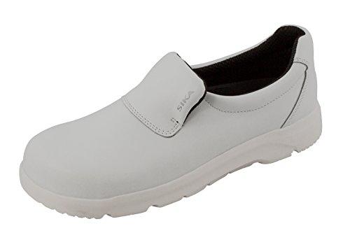 SIKA Footwear OptimaX slipper mit Stahlkappe weiß S2 + SRA + BGR 191