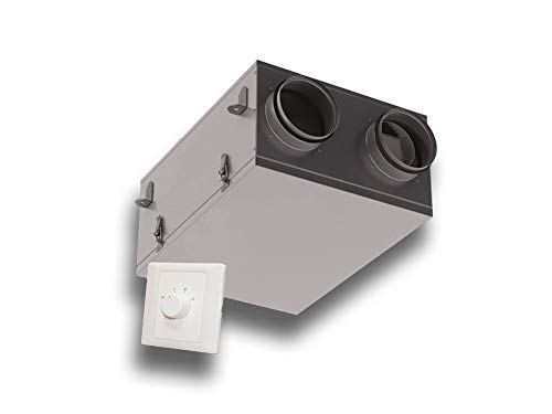 Lüftungsgerät Wohnraumlüftungsgerät mit Wärmerückgewinnung KWL Optima mini Einzelraumentlüftung Ausführung Kreuzstrom-Plattenwärmetauscher Zellstoff