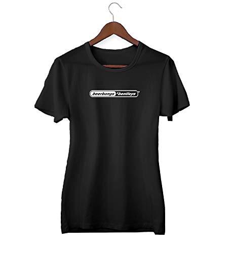 Desconocido Post Malone Beerbongs & Bentleys Black Logo_KK021436Camiseta de la Camisa Regalo de Las Mujeres Camiseta cumpleaños