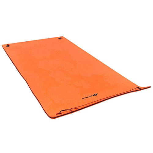 Goplus 12' x 6' Floating Water Pad Mat, Tear-Resistant XPE Foam, Bouncy and Durable Material, for Pool, Beach, Ocean, Lake