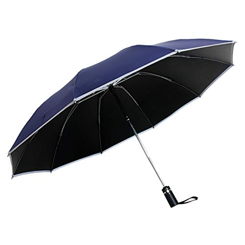 Paraguas amarillo plegable automático