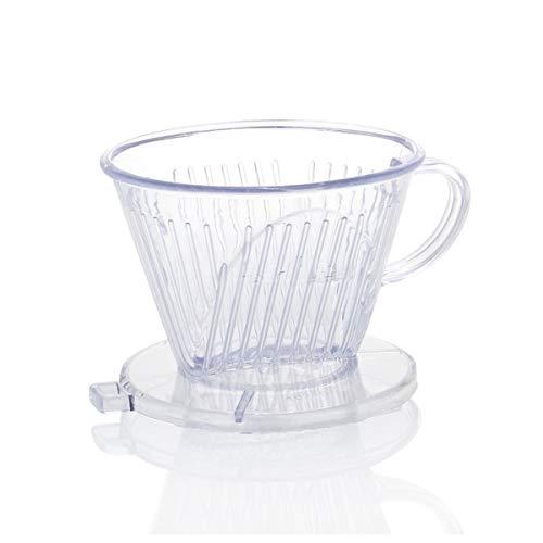 Filtro de café, recipiente de filtro de café para hasta 2 tazas...
