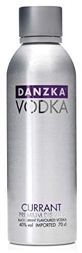 Danzka Vodka | Currant | Premium - Wodka | 1 x 700ml | Aluminiumflasche | Skandinavisches Design | Copenhagen 26303