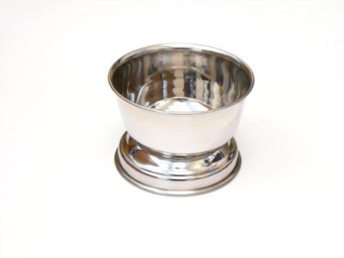 Finition chromée de qualité Bol de rasage. pour crème à raser/savon