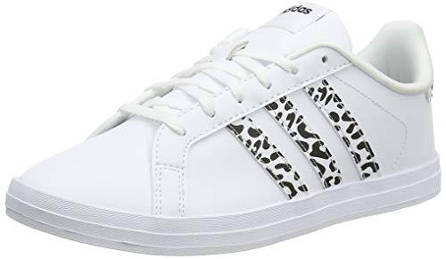 adidas Damen COURTPOINT Tennisschuhe, Ftwbla/Ftwbla/Negbás, 38 EU