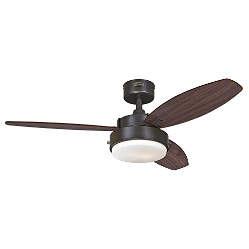 Westinghouse Lighting 7222500 Alloy Ceiling Fan with Light,...