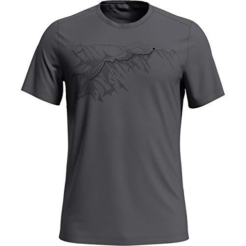 Odlo Tshirt à col rond Fdry Print pour homme XL Odlo Steel Gris .