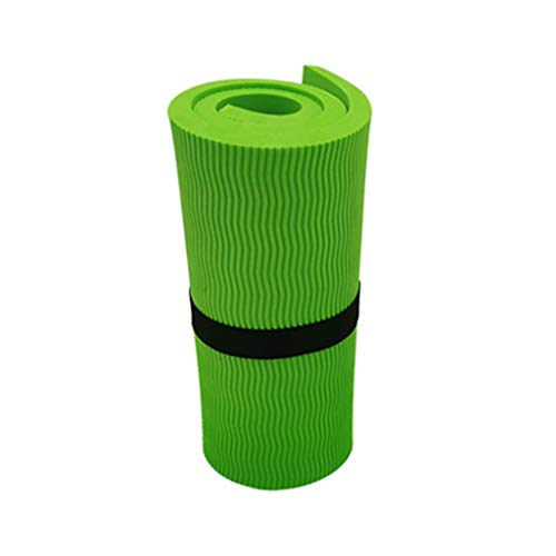 Andouy Yoga Knee Pad Pilates Workout Mat Halterung für Hands Wrists Knees Ellenbogenschützer Matten Übungsmatten für Yoga, Knie, Ellenbogen(60X25X1.5CM.Hellgrün)