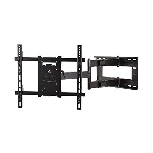 DQ Reach M 80 cm TV Wandhalterung Schwarz - ▱ TV ca.: 42-75 Zoll - VESA 100x100 200x200 400x400 mm - Vollbeweglich/Drehbar/Schwenkbar/Neigbar