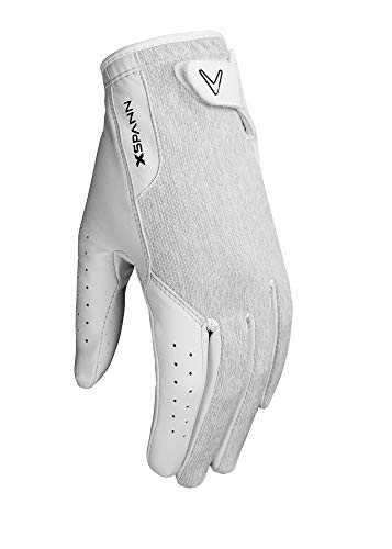 Callaway 2019 Damen X Spann Golfhandschuh L weiß/weiß