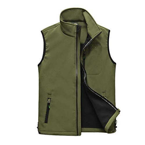 Gereedschapsvest outdoor multi-pocket vest fotografie visvest dun vest met dun fluweel gevoerde opstaande kraag ontwerp