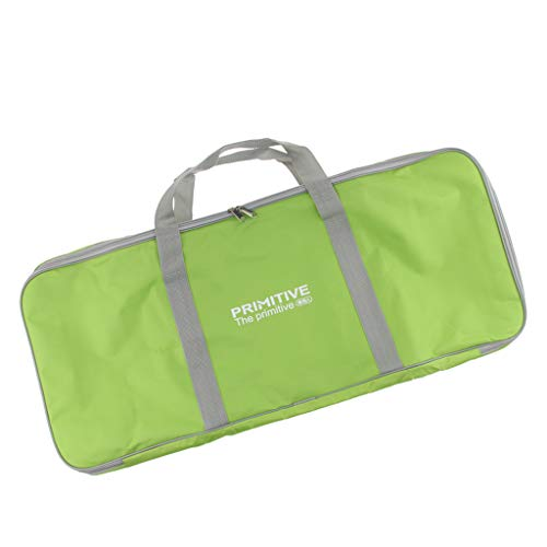 T TOOYFUL Durable Grill Camping Carry Bags Traveling Luggage Bags For Hiking BBQ - Green, 82x20x33cm