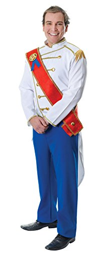 Bristol Novelty Ac984 Costume de Prince Charmant, Blanc, 44-inch