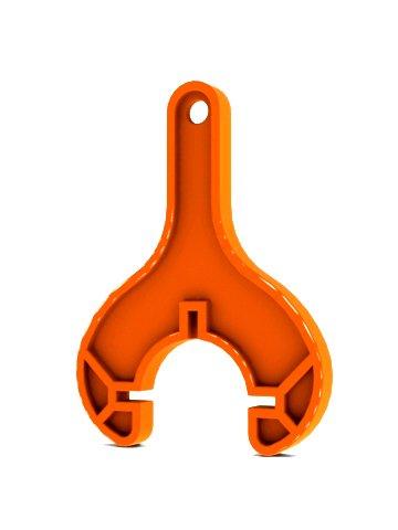 Ventilschlüssel für die Gardena Ventilbox V1 1254 & V3 1255 (orange)