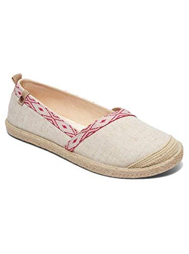 Roxy Flora II J Shoe Alpargatas Mujeres Rosa - 40 - Alpargatas Shoes