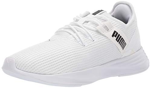 PUMA Women's Radiate XT Sneaker, White, 7.5 M US