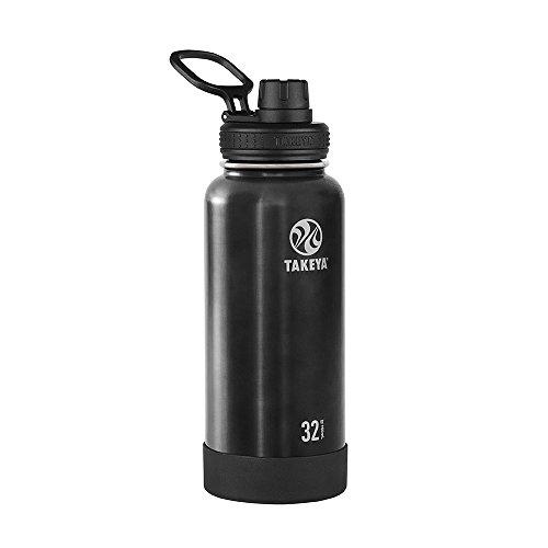 Takeya Actives isolierte Edelstahl-Trinkflasche Ausgussdeckel 32 oz slate