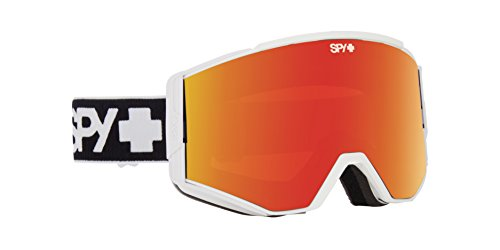 Spy Snow Goggle Ace with Bonus Lens, Colore Bianco,...