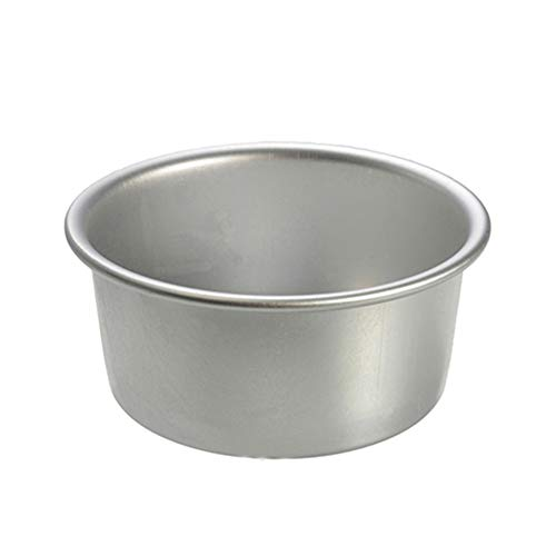 2/4/6/8 Inch Aluminum Alloy Non-stick Round Cake Mould Pan Bakeware Baking Tool - Silver 6 SoundsBeauty