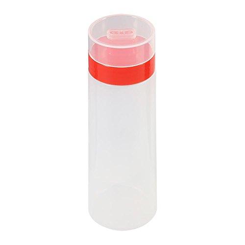 Delaman Saus Flessen Plastic Knijp Dispenser Fles met 4 Mondstukken, Lekvrije Caps voor BBQ Saus Olijfolie Ketchup Mosterd Mayo Hot Saus Salade Dressing, Helder, 10oz