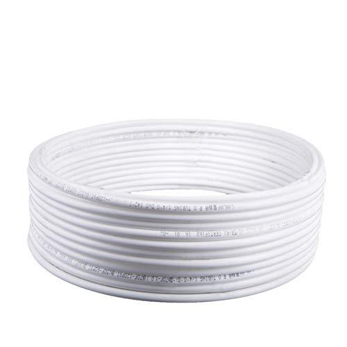 L-Yune, 1pc Qualitäts-weißer Flexibler Schlauch-Schlauchleitung for RO-Wasser-Filter-System Aquarium PE Umkehrosmose 1/4 Zoll 6m SR022
