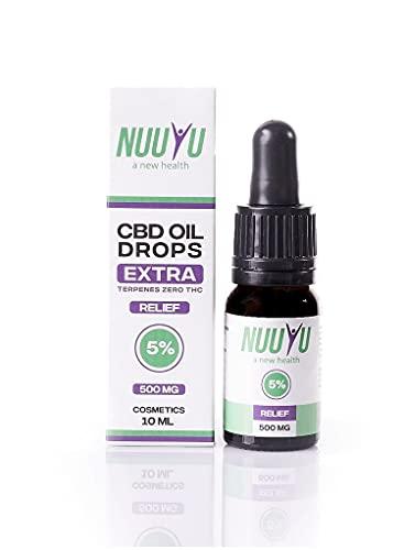 Nuuyu - Relief - Tropf mit 5% CBD-Öl -...