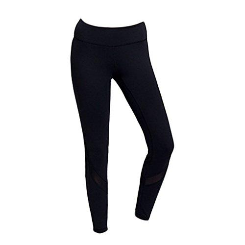 4URNEED dames zomer dunne sportlegging lang yoga broek stretch workout joggingbroek