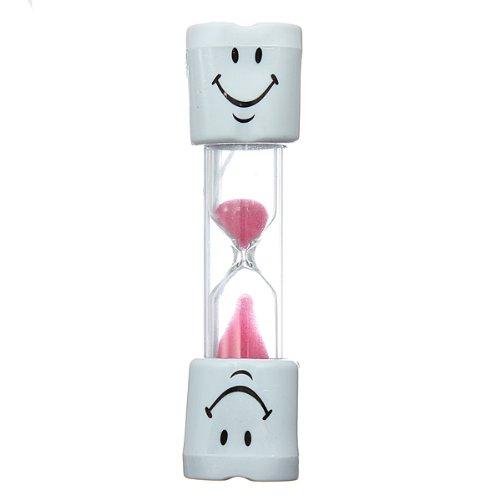 Wadoy Eieruhr / Sanduhr Smiley, 2 Minuten 3minute pink