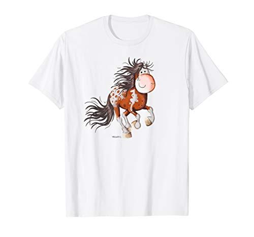 Happy Westernpferd T Shirt I Westernreiter Outfit Funshirt