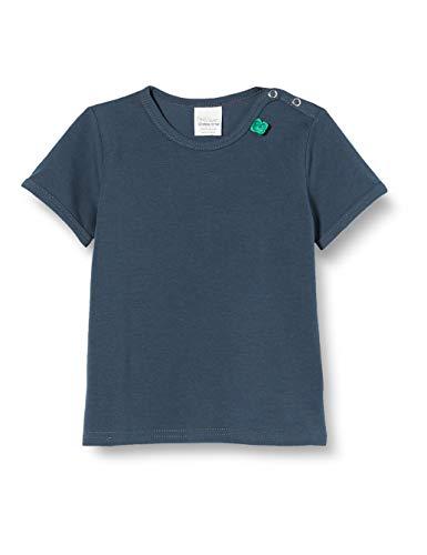 Fred'S World By Green Cotton Alfa S/s T T-Shirt, Bleu (Midnight 019411006), 95 (Taille Fabricant: 80) Bébé garçon