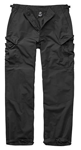 Brandit BDU Ripstop Trouser Cargohose, Schwarz, Größe 5XL