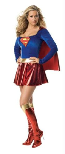 Supergirl 1pc Adult Small