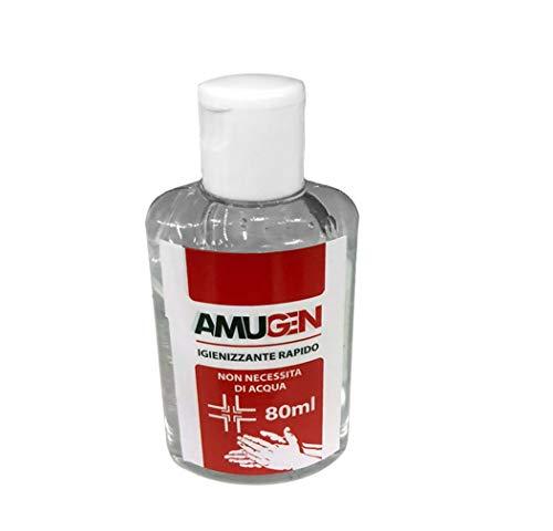 Gel igienizzante mani flacone 80 ml Amugen Codice: AMUG80
