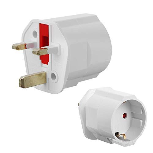 EU Euro 2-pins naar VK 3-pins stekkeradapter Universele adapter Reisomvormer Europees VK Standaard type G 3-pins stekkers