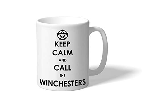 Tachinedas Kreativshop Supernatural Tasse mit Spruch Keep Calm