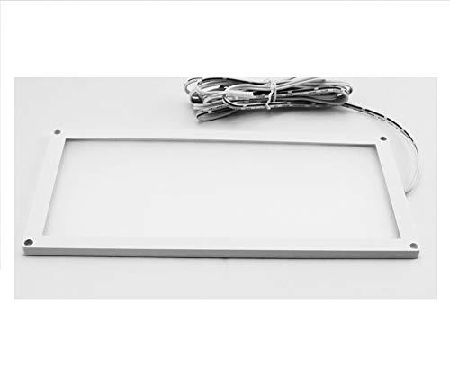 LED Panel mini ultra flach 12V DC Einbauleuchte 6W Unterbauleuchte 200 x 100 x 5 mm Möbeleinbau