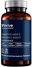 Bioactive Multivitamin for Men Once Daily Supports Stress, Healthy Aging (60 Vegetarian Capsules)