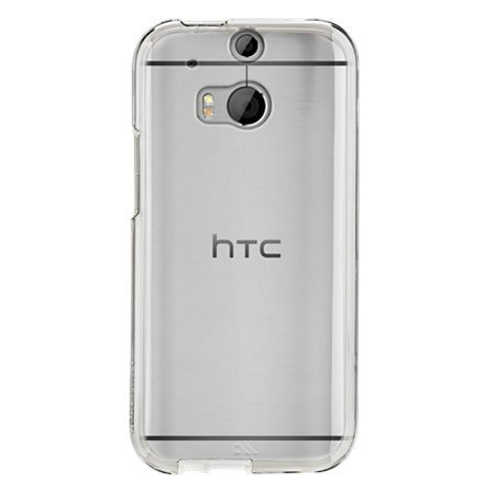 Plus Ultra Clear Transparent Flexible Soft TPU Slim Back Cover For HTC One M8