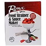 Weston Products Llc-Roma Food Strainer And Sauce Maker- White