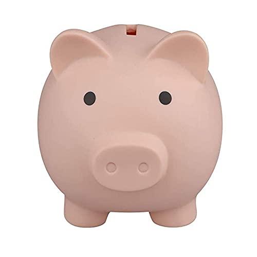 Tirelire Mignonne Tirelire En Plastique Incassable Tirelire Cochon Économiser La Boîte À Monnaie Pour Garçons Filles Enfants Cadeaux Amusants Pour Le Festival D'anniversaire