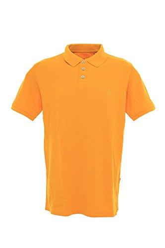 Signum Polo Poloshirt Herren Kurzarm Pique, Farbe:orange;Herrengrößen:L