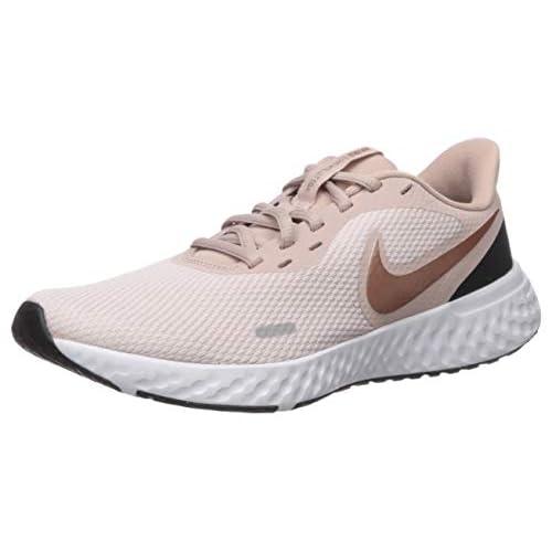 Nike Wmns Revolution 5, Scarpe da Corsa Donna, Multicolore (Barely Rose/Mtlc Red Bronze-Stone Mauve 600), 35.5 EU