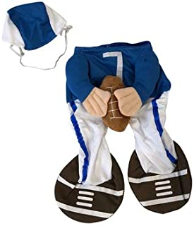 Midlee Football Player Fake Arms Dog Costume