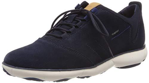 Geox Herren U Nebula C Sneaker, Blau (Navy C4002), 46 EU