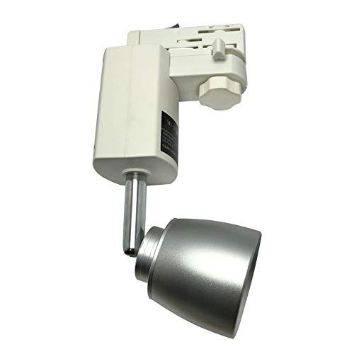 LIGHTEU, 7W 4 fils RGBW Rail Tracklight avec une télécommande FB, Wifi RGBW smart conduit lumière de piste, plafond sans fil plafonnier rail conduit, contrôlé via télécommande RF, ou smartphone avec un hub wifi (vendu séparément)