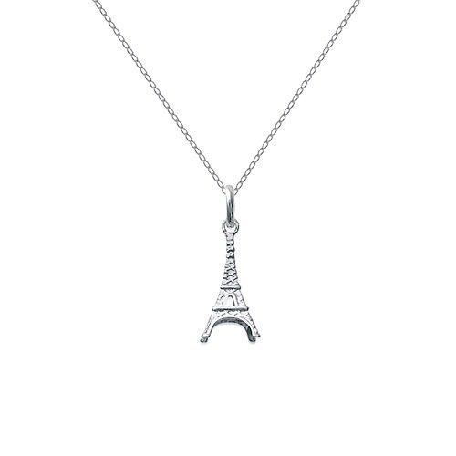 Set Anhänger Eiffelturm in Silber 925+ Kette 45cm aus 925Silber
