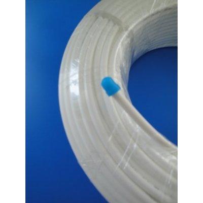 10 METER FREIE FARBWAHL Stück, Side by Side, Kühlschrankschlauch, 6 mm Wasserschlauch WEISS, GELB, BLAU, ROT - IHRE WAHL 1/4 Zoll (6mm) für Side by Side Kühlschrank, Kühlschrankschlauch, 10 m am Stück, Wasserfilter, Osmoseschlauch (WEISS)