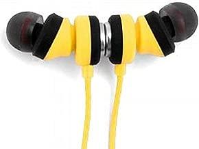 WeCom Super Bass Wireless Bluetooth Sport Headset, SP06, Yellow
