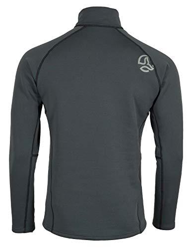 Ternua Lezat Top M Camiseta para Hombre, Mousse Grey, S